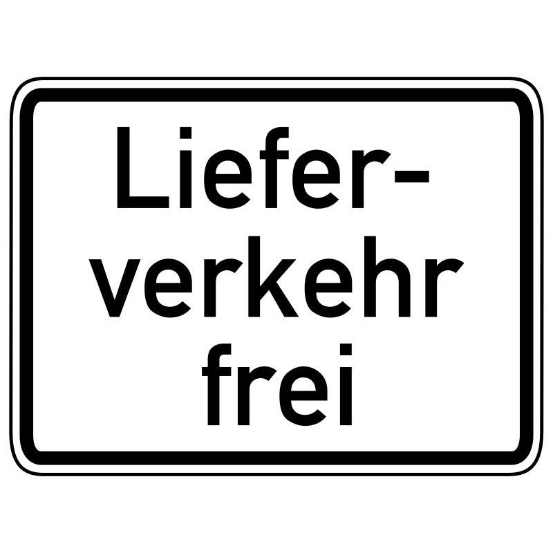 Lieferverkehr frei - StVO-1026-35