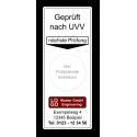 """Grundplakette """"Prüfung nach UVV, nächste Prüfung"""" , mit Werbung"""