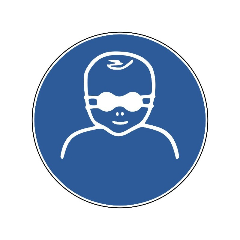 Kleinkinder durch weitgehend lichtundurchlässige Augenabschirmung schützen - M025