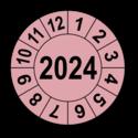 Jahresprüfplakette mit vierstelliger Jahreszahl, 2021