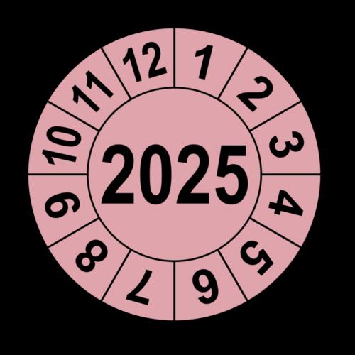 Jahresprüfplakette mit vierstelliger Jahreszahl, 2020
