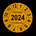 """Jahresprüfplakette """"Nächster Prüftermin"""", 2021"""