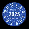 """Jahresprüfplakette """"Nächster Prüftermin"""", 2022"""