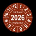 """Jahresprüfplakette """"Nächster Prüftermin"""", 2023"""