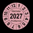 """Jahresprüfplakette """"Nächster Prüftermin"""", 2024"""