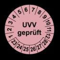 UVV geprüft, rosa