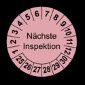 Nächste Inspektion, rosa