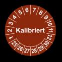 Kalibriert, braun