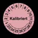 Kalibriert, rosa