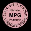 Nächster MPG Prüftermin, rosa