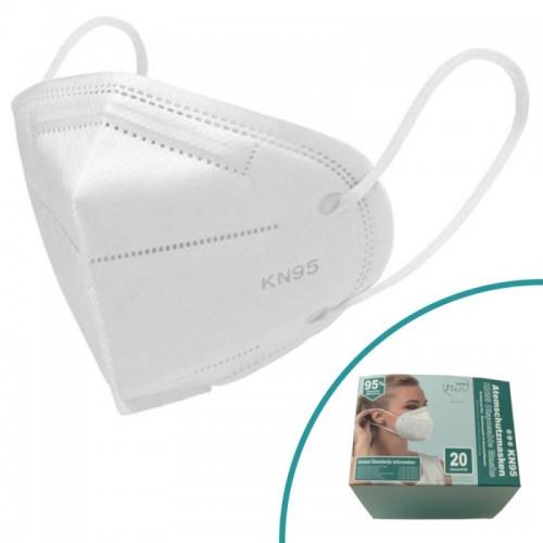 20 Stck Atemschutzmasken KN95 (Entspricht FFP2)