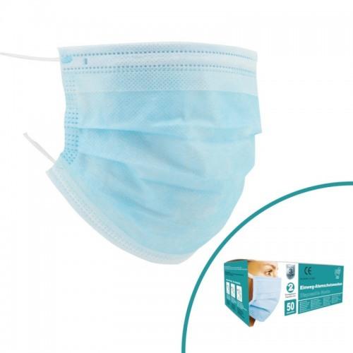 50 Stck Einweg-Atemschutzmasken