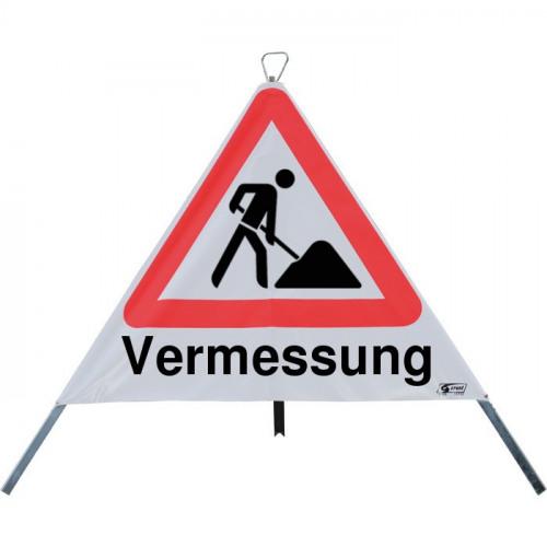 "Faltsignal ""Vermessung"", StVO-123"