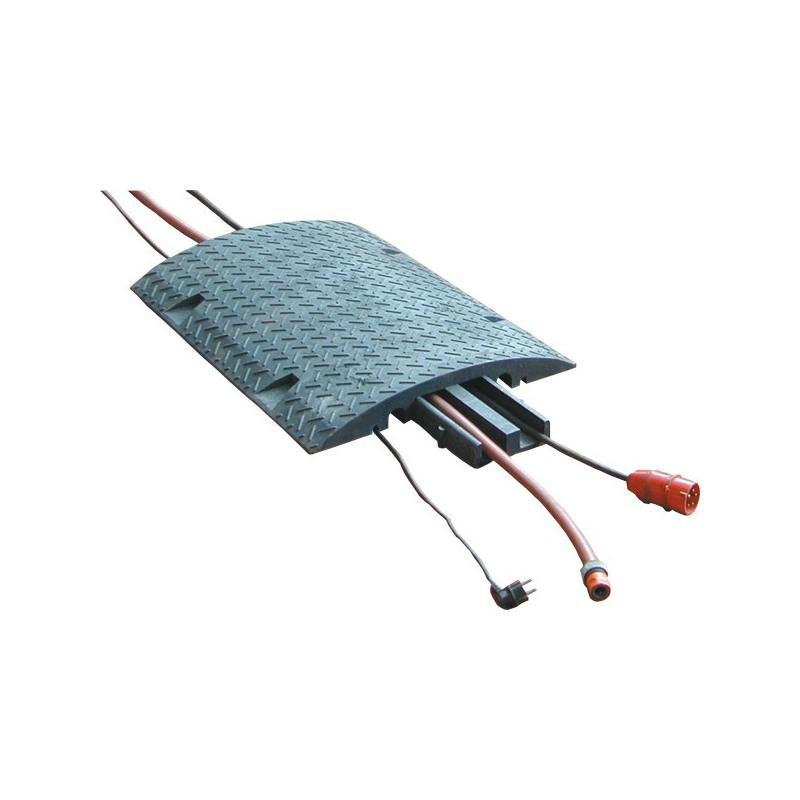 Kabelbrücke, mit Einsatz und Reflektoren