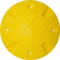 Geschwindigkeitshemmer 420 mm aus Recyclingmaterial mit Reflektoren