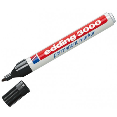 4 x Folienstift Edding 3000 permanent marker