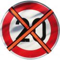 Abdeckband zum Neutralisieren von Verkehrszeichen, tagesleuchtend