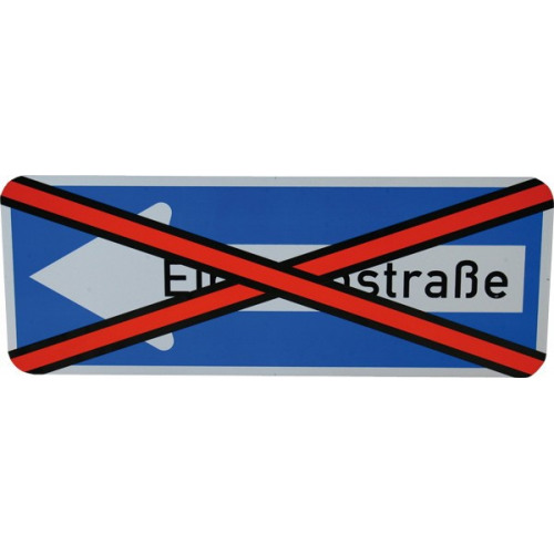 Abdeckband zum Neutralisieren von Verkehrszeichen, retroreflektierend