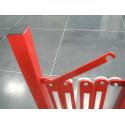 Scherensperre, Metall, ausziehbar bis 4 Meter