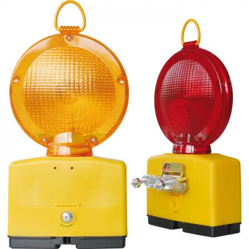 Baustellenlampe LED Ø 18 cm, für 2 Blockbatterien