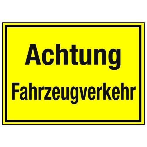 Achtung Fahrzeugverkehr