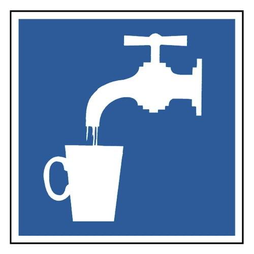 Symbol Wasserhahn
