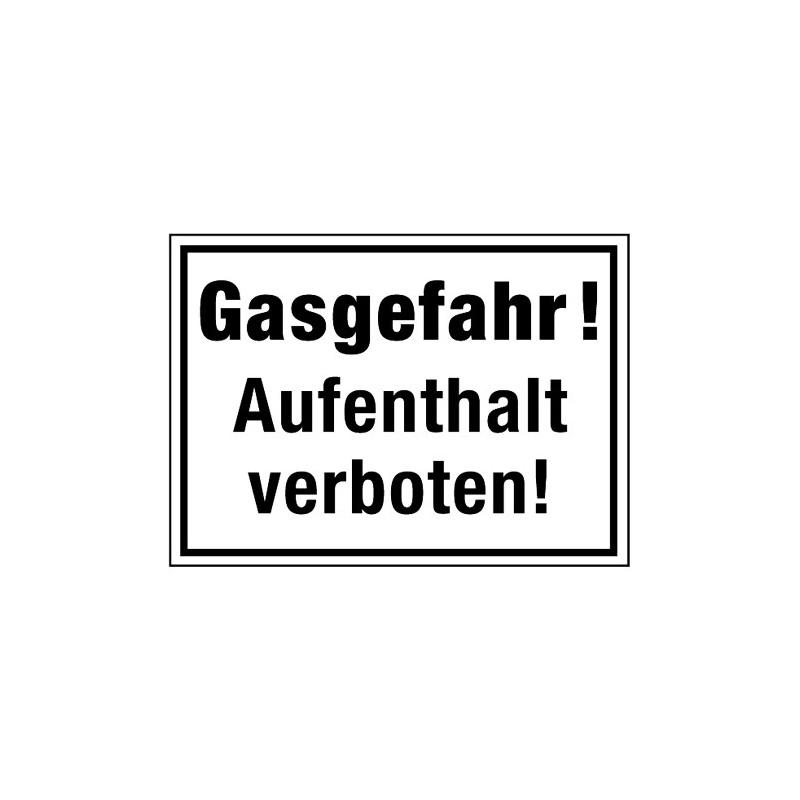 Gasgefahr! Aufenthalt verboten!