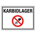 KARBIDLAGER (mit Symbol P011)