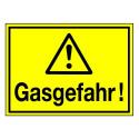 Gasgefahr! (mit Symbol W001)