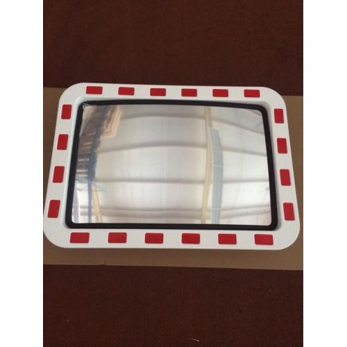 Verkehrsspiegel Acrylglas, mit Kippgelenk und Rohrschelle