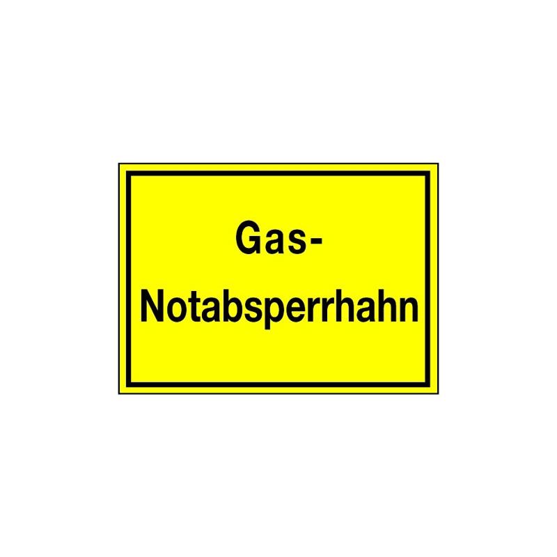 Gas-Notabsperrhahn