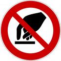 Berühren verboten - P010