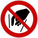 Hineinfassen verboten - P015