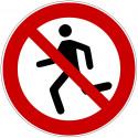 Laufen verboten - WSP001
