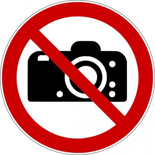 Fotografieren verboten - P029