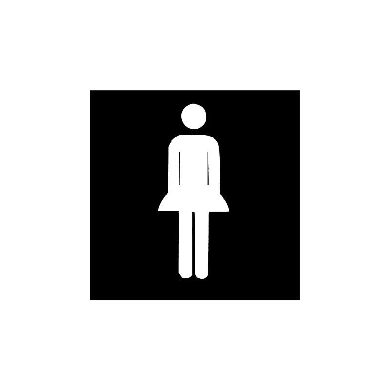 """Piktogramm """"WC Damen"""""""