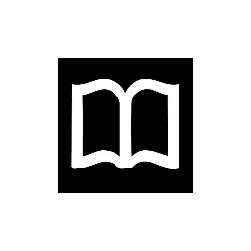 "Piktogramm ""Bücherei, Leseraum"""