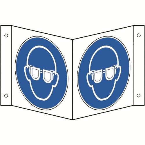 Nasenschild: Augenschutz benutzen - M004