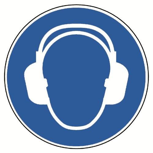 Gehörschutz benutzen - M003