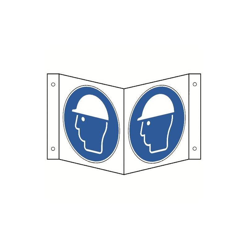 Nasenschild: Kopfschutz benutzen - M014