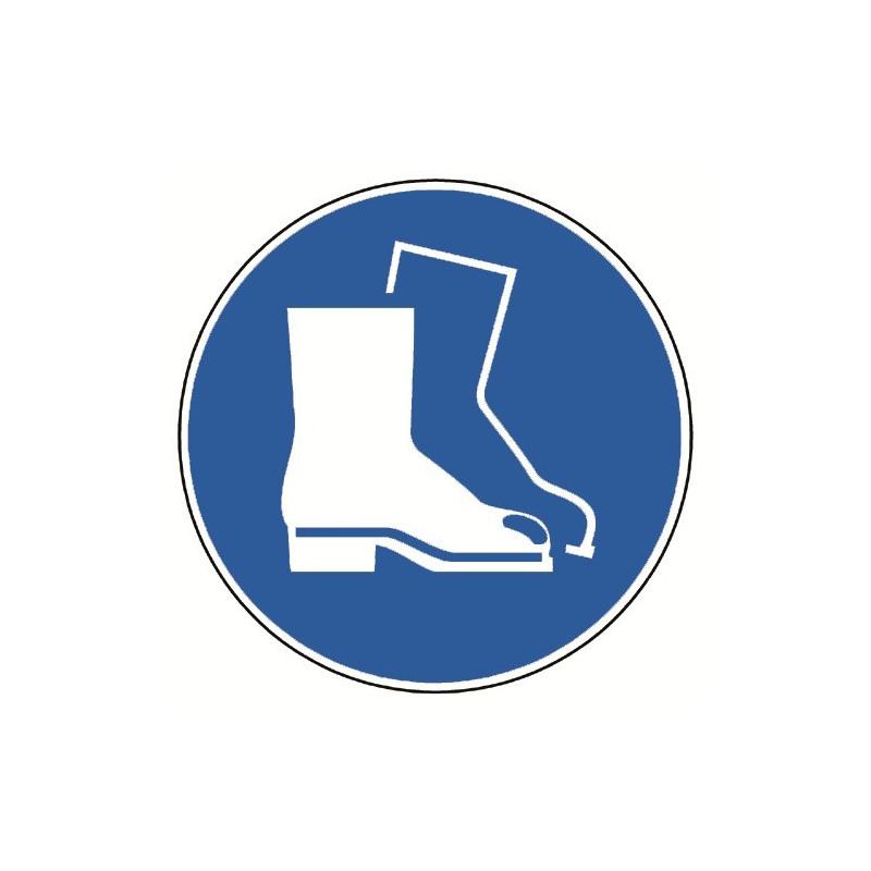Fußschutz benutzen - M008