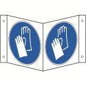 Nasenschild: Handschutz benutzen - M009