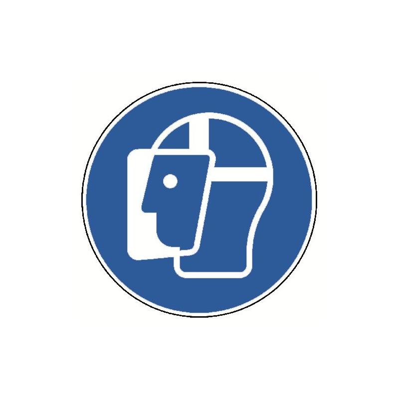 Gesichtsschutz benutzen - M013