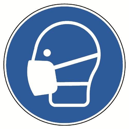 Maske benutzen - DIN EN ISO 7010 - M016