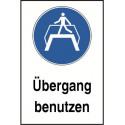 """Kombischild """"Übergang benutzen"""" - M023"""