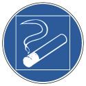Rauchen innerhalb des begrenzten Raumes gestattet