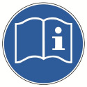 Gebrauchsanweisung beachten - DIN 4844