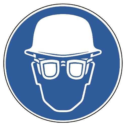 Kopf- und Augenschutz tragen, praxisbewährt