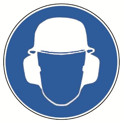 Kopf- und Gehörschutz tragen, praxisbewährt