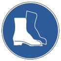 Fußschutz benutzen - alte ASR A1.3 M005